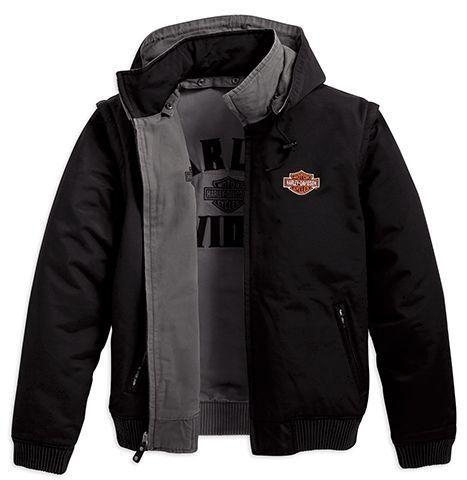 Harley Davidson Canvas Jacket Bold